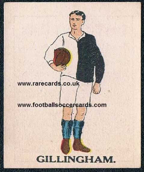 1923 Battock's Gillingham card
